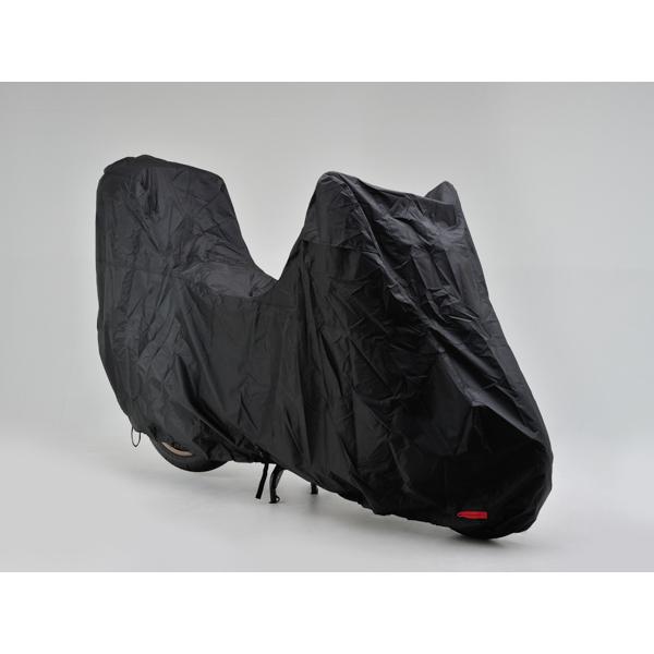 DAYTONA 〔WEB価格〕ブラックカバー ウォーターレジスタント ライト トップケース装着車用 Lサイズ【大切なバイクを花粉・黄砂から守る】