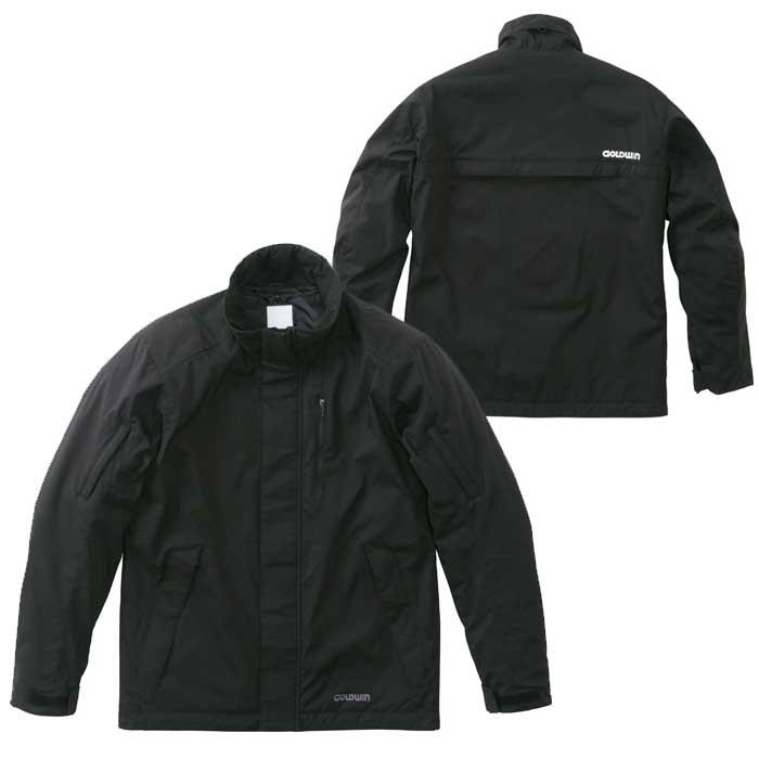GOLDWIN 〔WEB価格〕GSM22853 GWM マルチユースジャケット 防寒 防風 ブラック(K)◆全4色◆