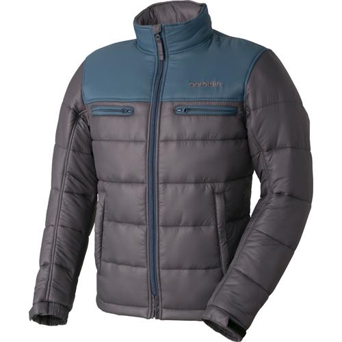 【アウトレット】通販限定在庫限り!  GSM22758 GWS ウォームキルトジャケット 防寒 防風 ブルーグレー×グレー(BH)