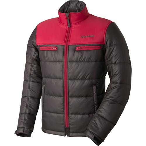 GOLDWIN 〔WEB価格〕GSM22758 GWS ウォームキルトジャケット 防寒 防風 レッド×チャコール(RC)◆全6色◆
