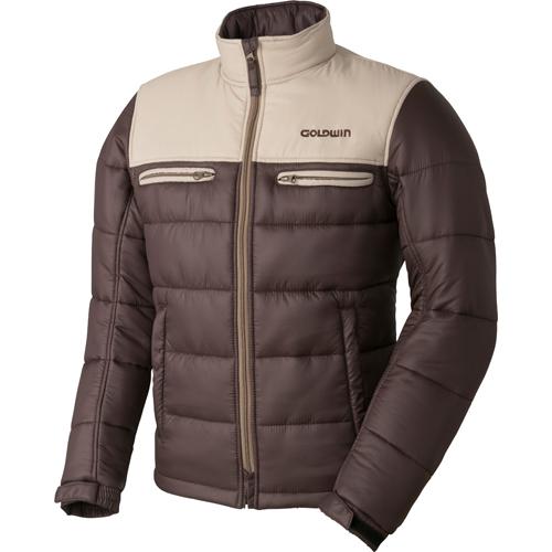 〔WEB価格〕GSM22758 GWS ウォームキルトジャケット 防寒 防風 タン×ブラウン(TB)◆全6色◆