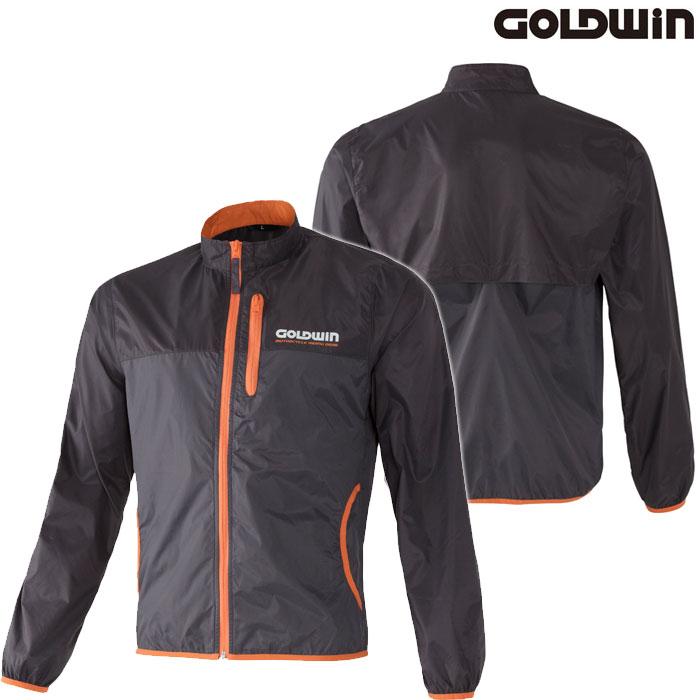 GOLDWIN GSM24800 マルチインナージャケット 防風 オレンジ×グレー(OH)◆全5色◆
