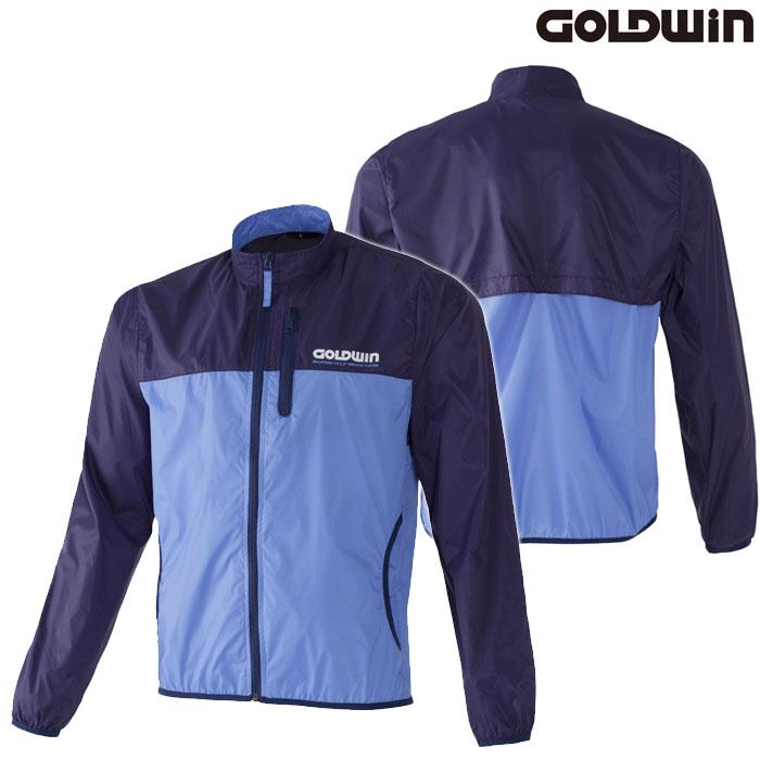 GOLDWIN GSM24800 マルチインナージャケット 防風 ネービー×ライトブルー(NL)◆全5色◆