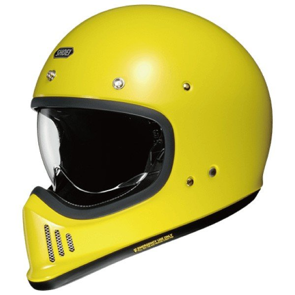SHOEI ヘルメット 納期6~12ヶ月程度 EX-ZERO【イーエックス - ゼロ】 フルフェイス ヘルメット ブリリアントイエロー