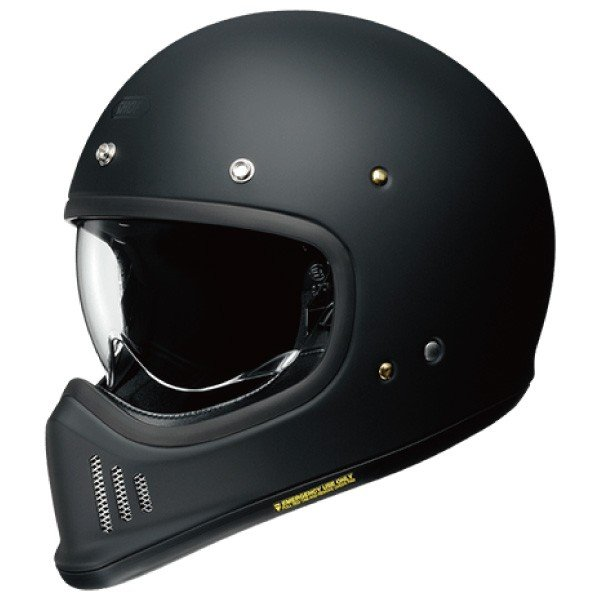 SHOEI ヘルメット EX-ZERO【イーエックス - ゼロ】 フルフェイス ヘルメット マットブラック