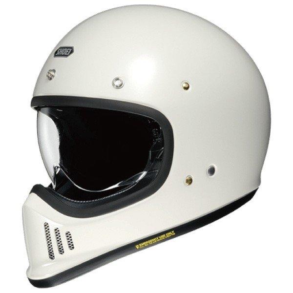 SHOEI ヘルメット 納期6~12ヶ月程度 EX-ZERO【イーエックス - ゼロ】 フルフェイス ヘルメット オフホワイト