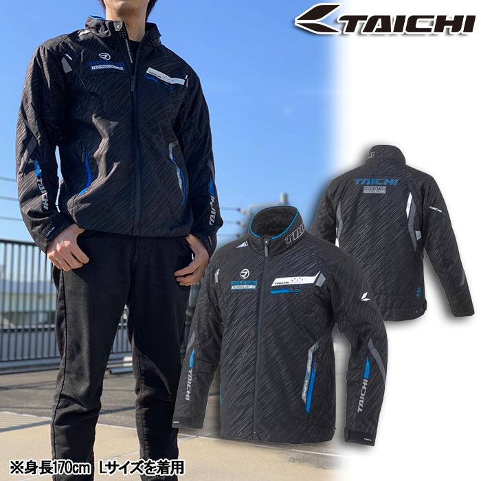 アールエスタイチ RSJ716 レーサー オールシーズン ジャケット インナー付 ブラック/ブルー◆全4色◆