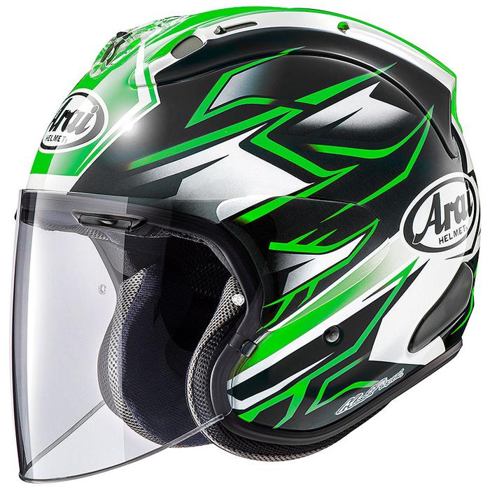 Arai (個別配送のみ 他商品との同梱配送不可)VZ-RAM GHOST【VZ・ラム ゴースト】 ジェットヘルメット 緑