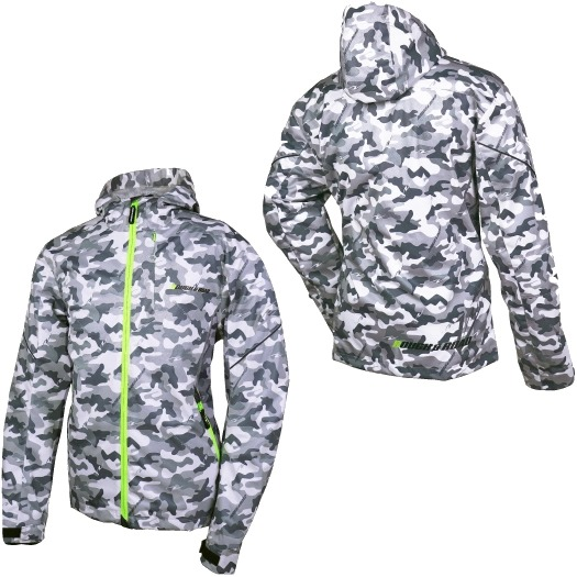 ROUGH&ROAD 〔WEB価格〕RR7229 ウインドガードストレッチライドZIPパーカーFP 防風 ジャケット シティーカモ ◆全3色◆