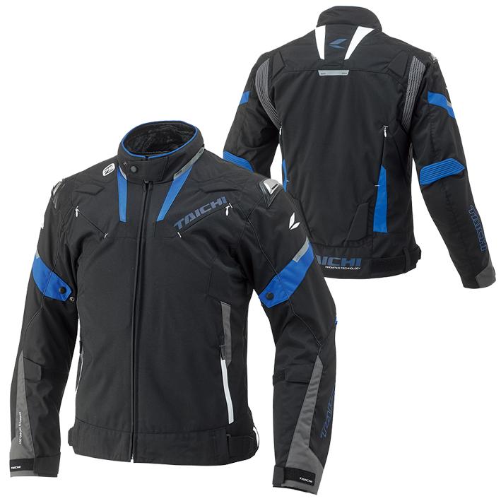 アールエスタイチ 〔WEB価格〕RSJ718 アームド オールシーズンジャケット 撥水加工 着脱式インナー ブラック/ブルー