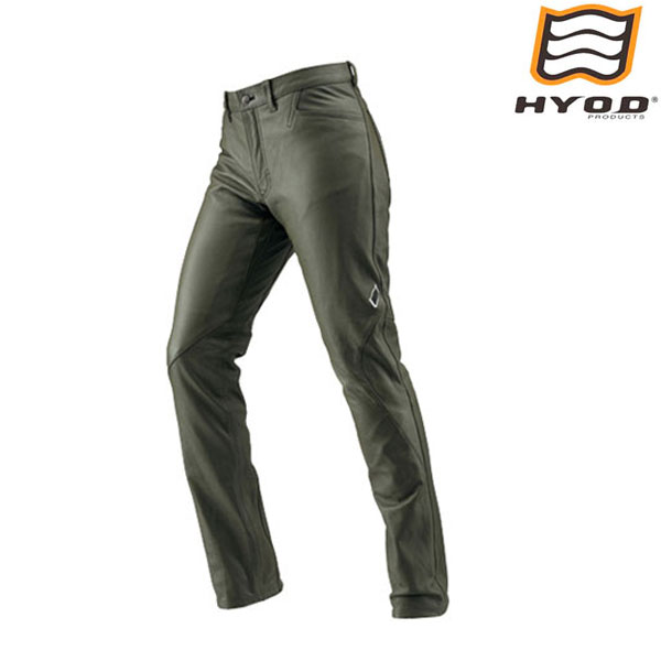 HYOD PRODUCTS HSP801D ST-X Lite D3O LEATHER PANTS(RIDE-STRAIGHT) KHAKI◆全4色◆