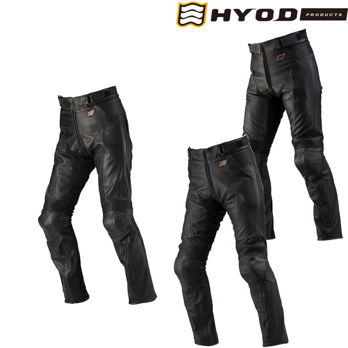 HYOD PRODUCTS 【在庫限り】ST-X D3O LEATHER PANTS(BOOTS-OUT)  レザーパンツ HSP004D
