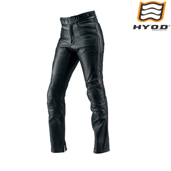 HYOD PRODUCTS HSP008DN ST-X D3O LEATHER PANTS(STRAIGHT) レザーパンツ BLACK◆全3色◆