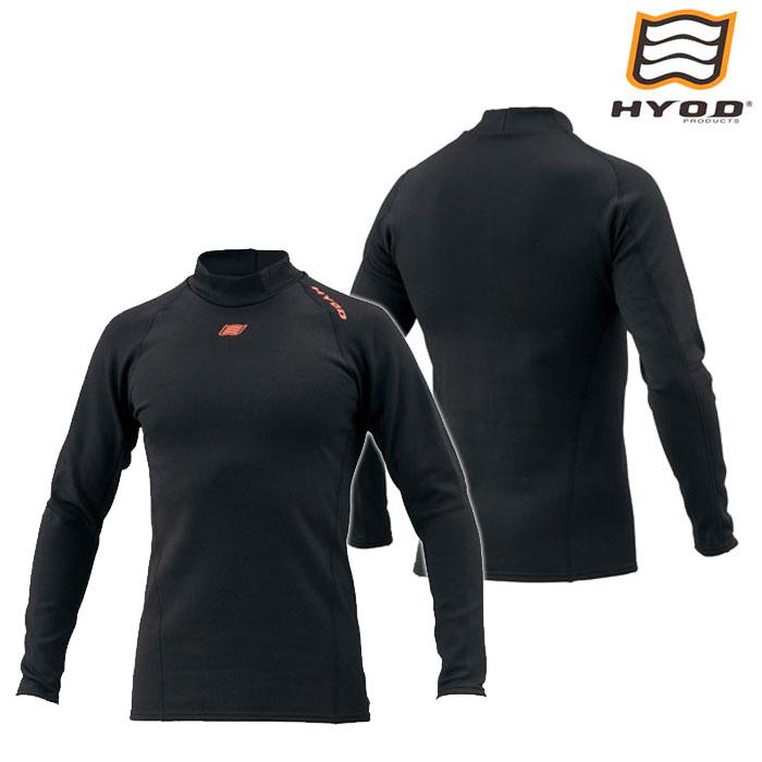 HYOD PRODUCTS HRU508N HEAT UNDER SHIRTS 防寒 蓄熱 保温 BLACK◆全3色◆