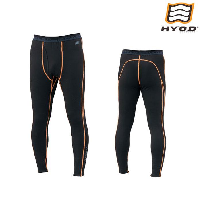 HYOD PRODUCTS HRU509N HEAT UNDER PANTS BLACK/ORANGE STITCH◆全3色◆