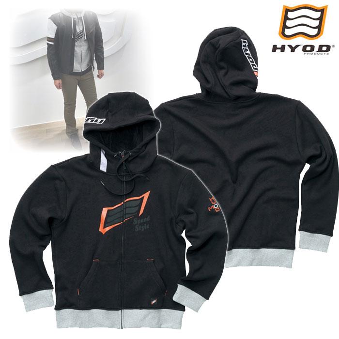 HYOD PRODUCTS STU718 WIND BLOCK HEAT FULL ZIP PARKA ジャケット BLACK◆全4色◆