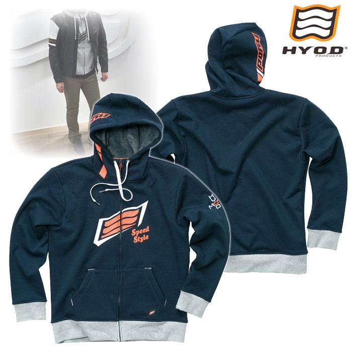 HYOD PRODUCTS STU718 WIND BLOCK HEAT FULL ZIP PARKA ジャケット NAVY◆全4色◆