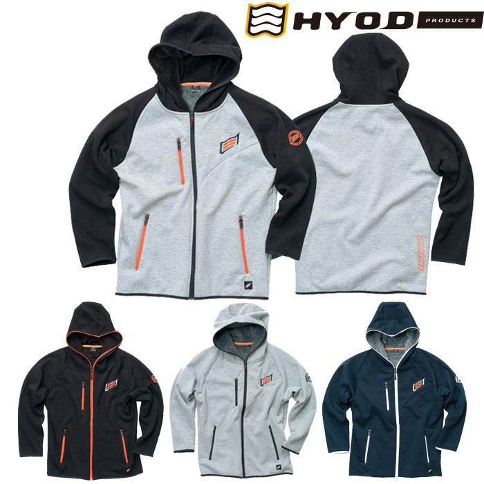 HYOD PRODUCTS 【11月入荷予定】〔WEB価格〕STU717 WIND BLOCK HEAT FULL ZIP PARKA ジャケット