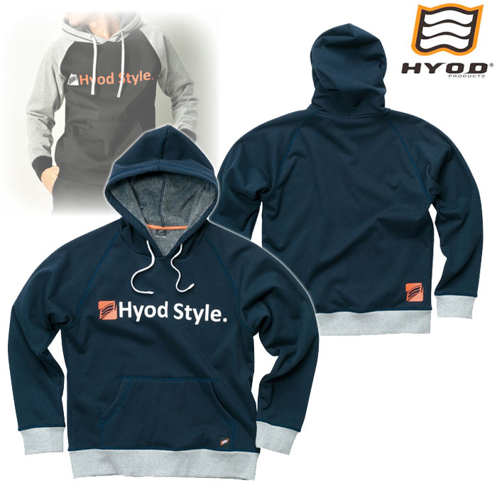 HYOD PRODUCTS STU722 WIND BLOCK HEAT PULL OVER PARKA ジャケット NAVY◆全4色◆