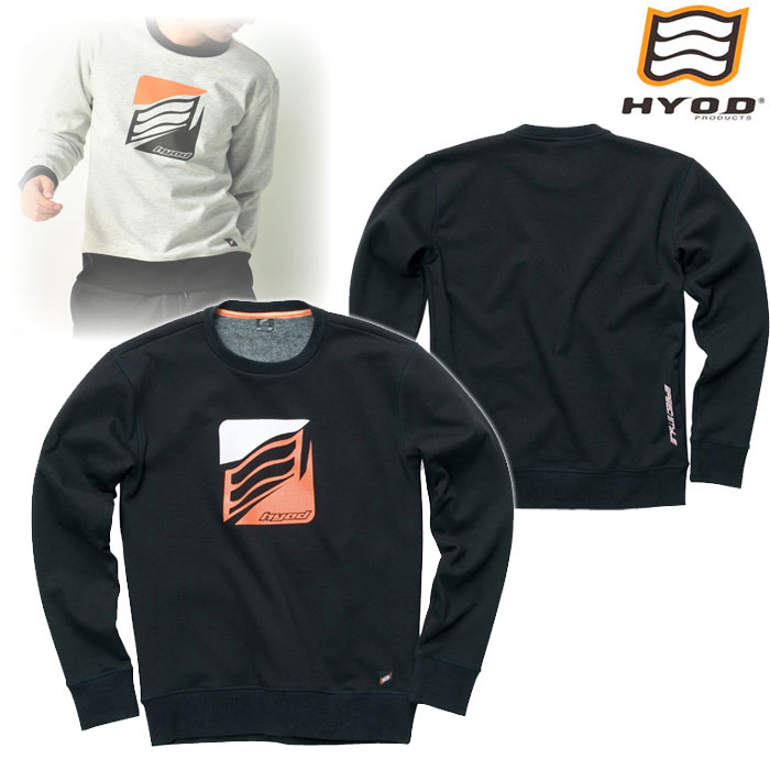 STU714 WIND BLOCK HEAT SWEAT SHIRTS BLACK◆全4色◆