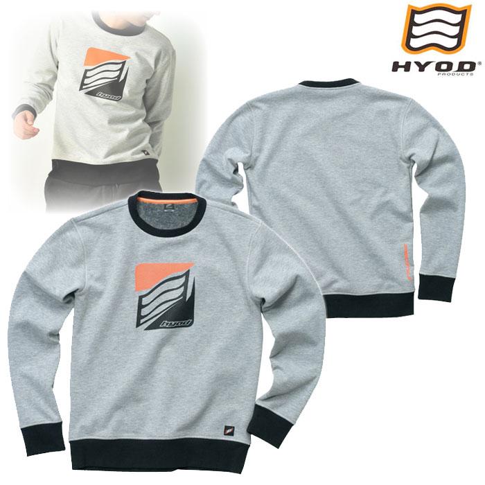 HYOD PRODUCTS STU714 WIND BLOCK HEAT SWEAT SHIRTS ASH◆全4色◆