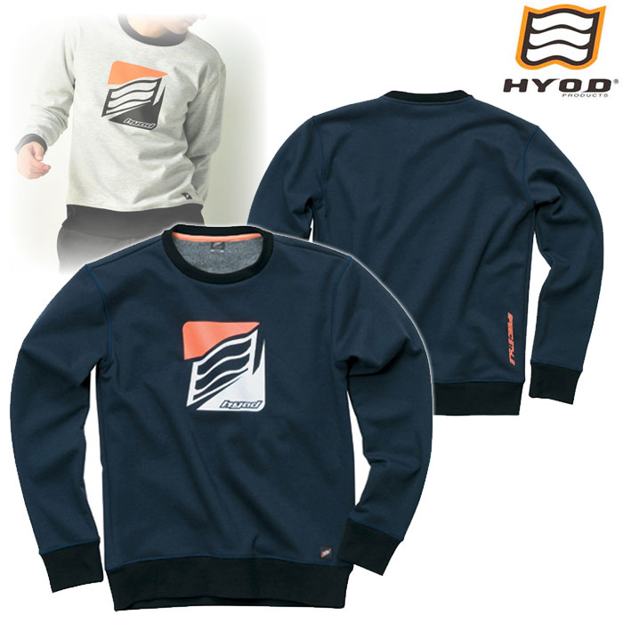 HYOD PRODUCTS STU714 WIND BLOCK HEAT SWEAT SHIRTS NAVY◆全4色◆