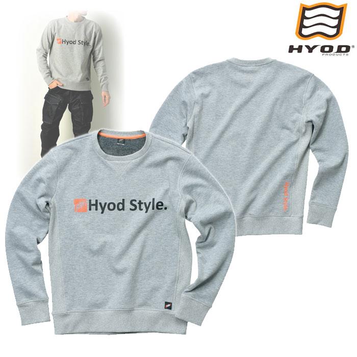 HYOD PRODUCTS STU713 WIND BLOCK HEAT SWEAT SHIRTS ASH◆全4色◆