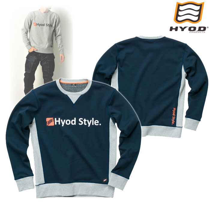 HYOD PRODUCTS STU713 WIND BLOCK HEAT SWEAT SHIRTS NAVY◆全4色◆