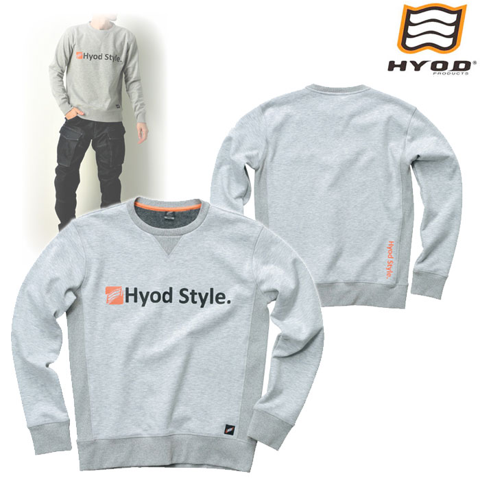 HYOD PRODUCTS STU713 WIND BLOCK HEAT SWEAT SHIRTS OATMEAL◆全4色◆