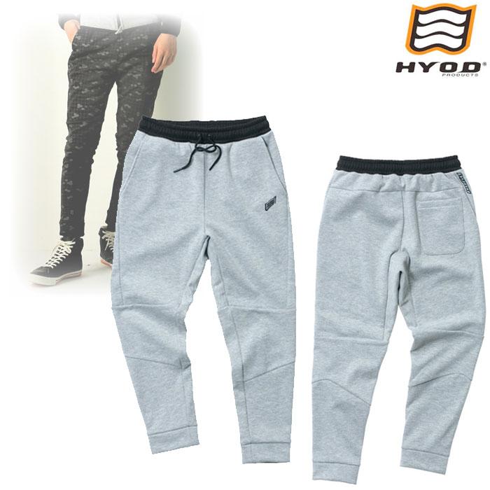 HYOD PRODUCTS STU725 WIND BLOCK HEAT SWEAT PANTS ASH◆全4色◆