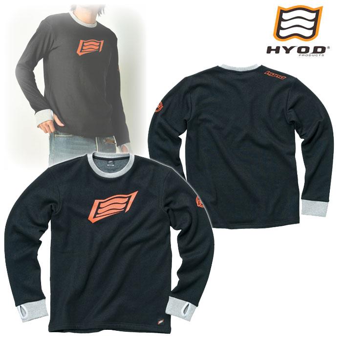 HYOD PRODUCTS STU716 LONG SLEEVE HEAT T-SHIRTS BLACK◆全4色◆