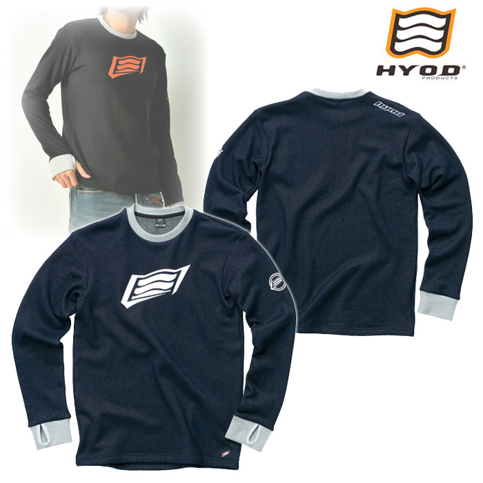 HYOD PRODUCTS STU716 LONG SLEEVE HEAT T-SHIRTS NAVY◆全4色◆