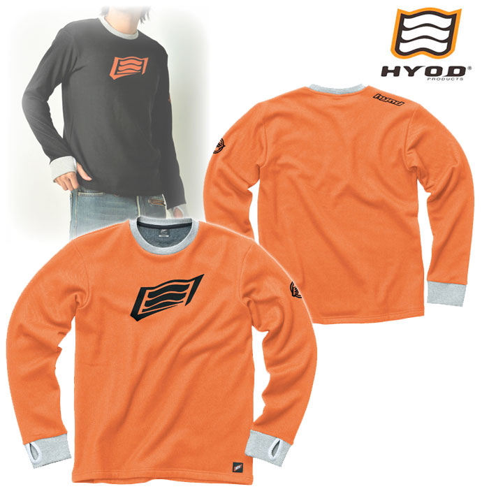 HYOD PRODUCTS STU716 LONG SLEEVE HEAT T-SHIRTS ORANGE◆全4色◆