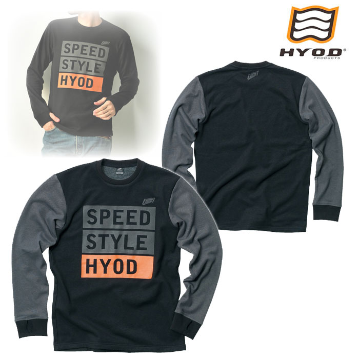 HYOD PRODUCTS STU726 LONG SLEEVE HEAT T-SHIRTS BLACK/GREY◆全4色◆