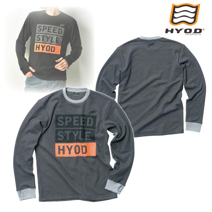 HYOD PRODUCTS STU726 LONG SLEEVE HEAT T-SHIRTS GREY◆全4色◆