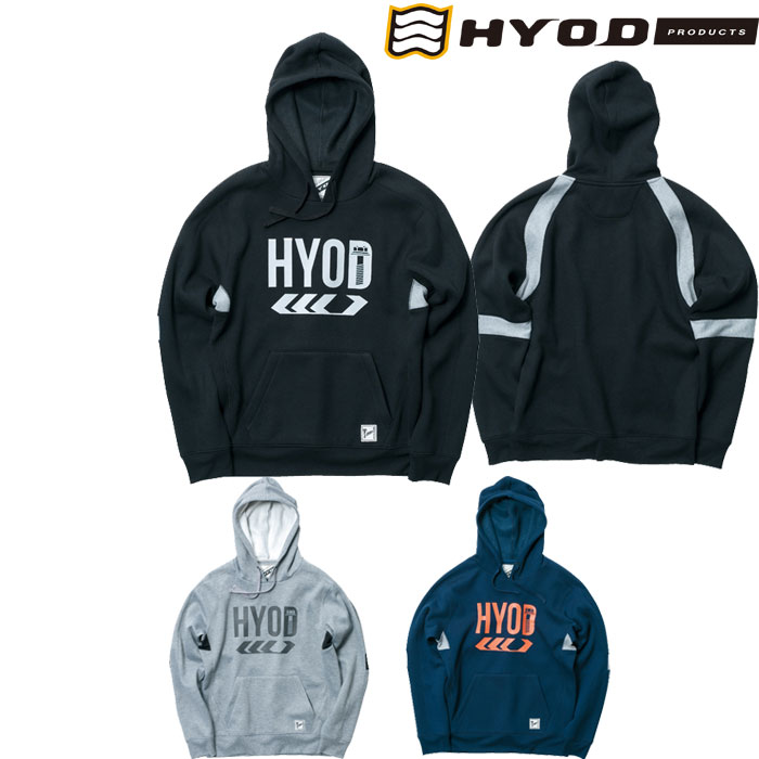 HYOD PRODUCTS PULL OVER SWEAT PARKA