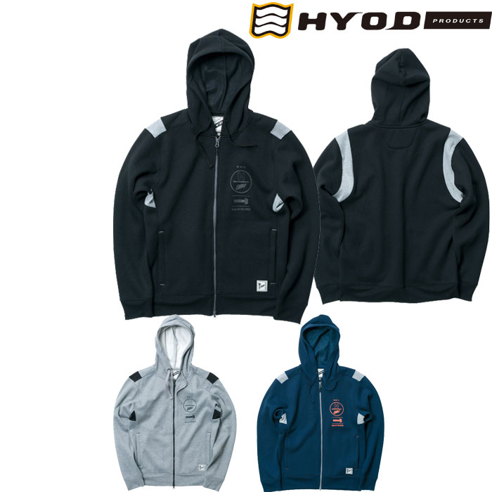 HYOD PRODUCTS FULL ZIP SWEAT PARKA
