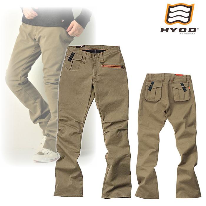 """HYOD PRODUCTS HYD508DN HYOD D3O RIDE PANTS """"WARM LAYERD"""" KHAKI◆全4色◆"""