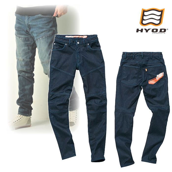 "HYOD PRODUCTS HYD533D HYOD D3O BIKERS PANTS""WARM LAYERD"" ウインタースポーツデニム 防寒 INDIGO(one-wash)◆全3色◆"