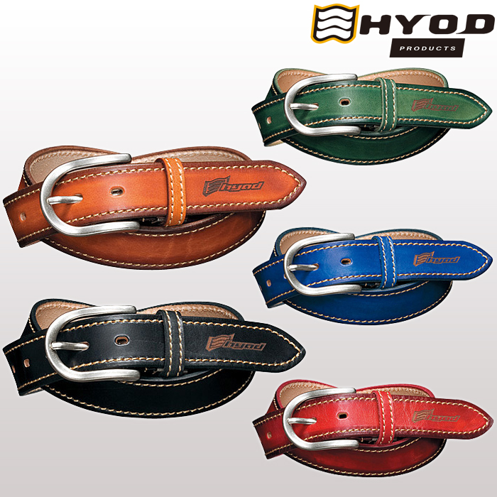 HYOD PRODUCTS 〔WEB価格〕【在庫限り】HYA533N BASIC STITCH BELT ベルト