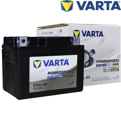 VARTA MFバッテリー VT4L-BS