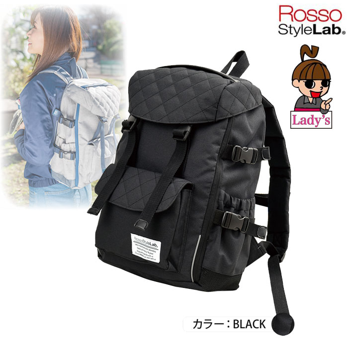 J-AMBLE (レディース)ROT-907 2WAYシートバッグ兼用リュック ブラック◆全3色◆