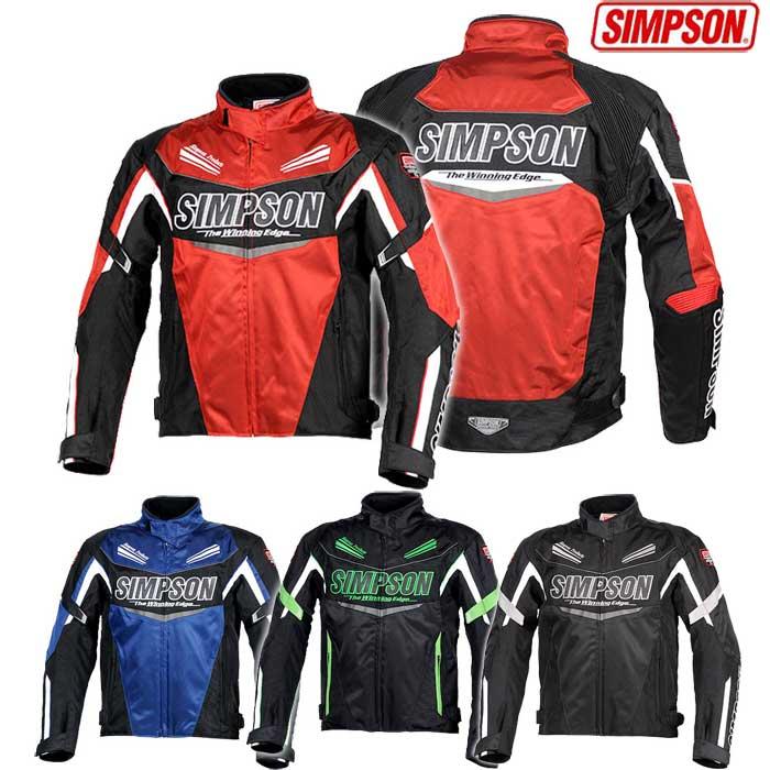 SIMPSON SJ-8132 オールシーズンナイロンジャケット