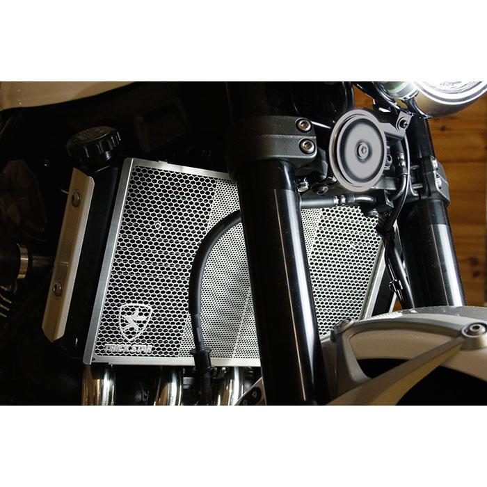 TRICK STAR Z900RS ラジエターコアガード ブラックメッキ 4560417407954 VHG-031-BM