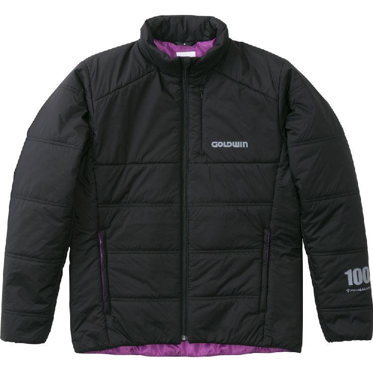 GOLDWIN 【WEB限定】GSM24850 プリマロフトインナージャケット ブラック(K)◆全2色◆