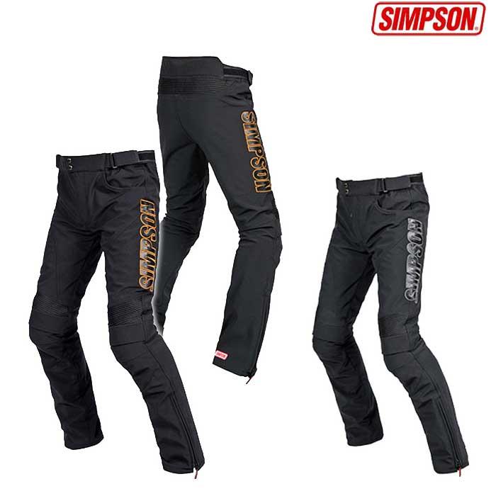 SIMPSON SAP-8133 ウインターソフトシェルパンツ 防寒 防風