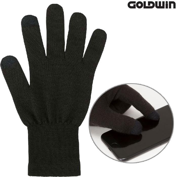 GOLDWIN 〔WEB価格〕GSM29851 ウォームインナーグローブ 防寒 保温 スマホ対応