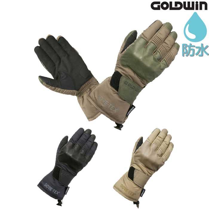 GOLDWIN GSM26855 ゴアテックス クロスオーバーウィンターグローブ  防水透湿 防風保温 スマホ対応