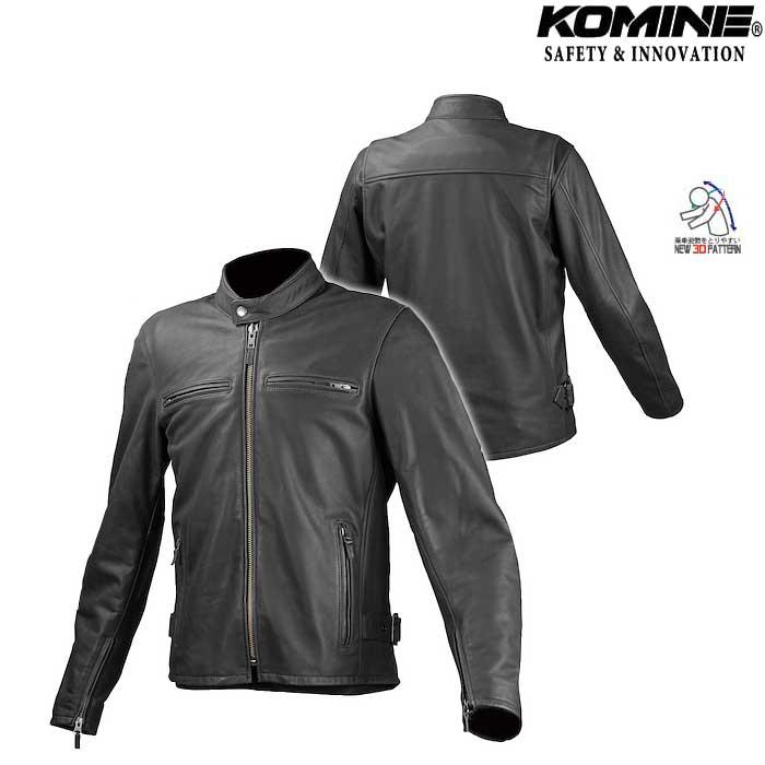 komine LJ-534 シングルライダースレザージャケット