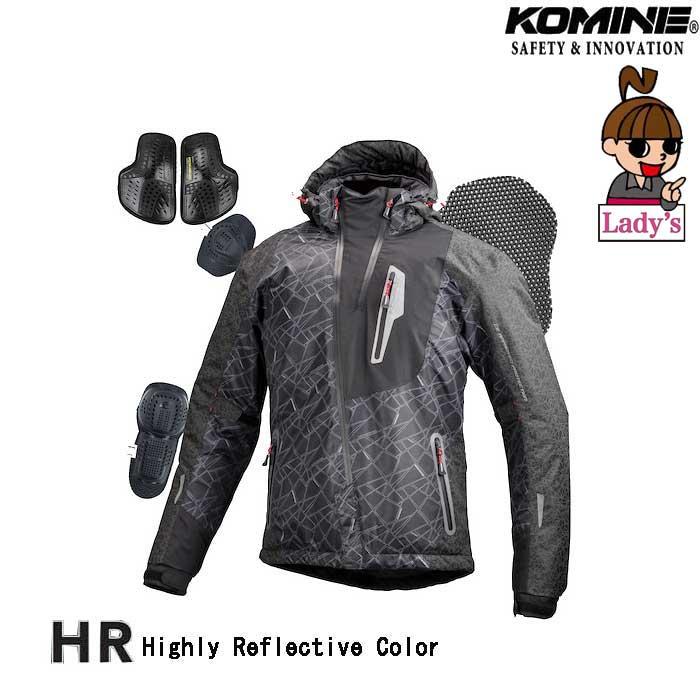 komine 〔WEB価格〕JK-589 【LADYS】プロテクトウインターパーカ